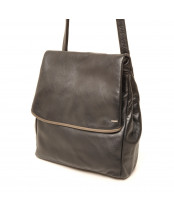 Berba / FLAP BAG / 005-800_14 black - taupe