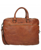 DSTRCT / Business Bag / 026120_30 cognac