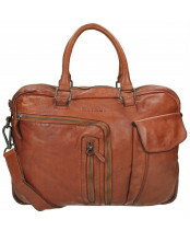 DSTRCT / Business Bag 2VV / 026220_30 cognac