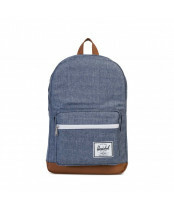 Herschel Supply / POPQUIZ / 10011_01570 dark chambray crosshatch