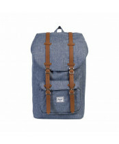 Herschel Supply / LITTLE AMERICA / 10014_01570 dark chambray crosshatch
