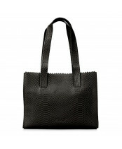Mypaperbag Handbag Zip 1057 anaconda black