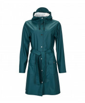 Rains / CURVE JACKET / 1206_40 dark teal