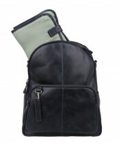 1e08ad50b0a Cowboysbag CLEAN LINES DIAPER BAG OBURN, 2050 in de kleur 100 black  8718586583368