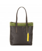 Mywalit / N-S SHOPPER / 2052_106 brown evergreen