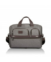 Tumi / T-PASS LAPTOPBRIEF / 26516_earl grey