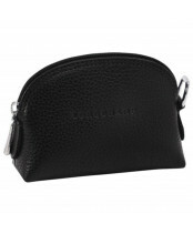 Longchamp / COIN PURSE / L3686021_047 noir