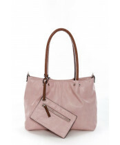 Meier Lederwaren / BAG IN BAG M / 399_677 pink/cognac