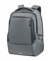 "Samsonite / TECH LP BACKPACK 17"" / 41D-104_18 steel grey_1829"