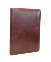 Leonhard Heyden / DOCUMENT WALLET / 5270_007 cognac