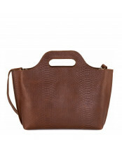 My Paper Bag / CARRY HANDBAG / 8008_anaconda brandy