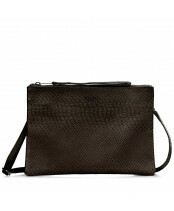 MYOMY / CROSS-BODY CLUTCH / 9073_anaconda black