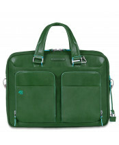 Piquadro / THIN 2HANDLE / CA2849B2_VE4 verde foresta
