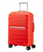Samsonite Flux Spinner 55 in de kleur tangarine red