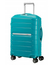 Samsonite Flux Spinner 55 in de kleur ocean blue