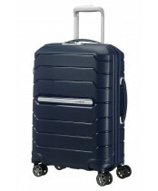 Samsonite Flux Spinner 55 in de kleur navy blue