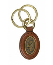The Bridge / OVAL KEY FOB / 092149_14 marrone