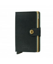 Secrid Miniwallet Rango in de kleur green-gold