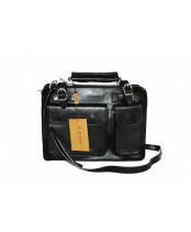 Alessia / SMALL ZIPPERBAG / NAN-4506_black