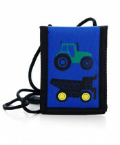 Pick & Pack / TRACTOR WALLET / PP1304_03 blue