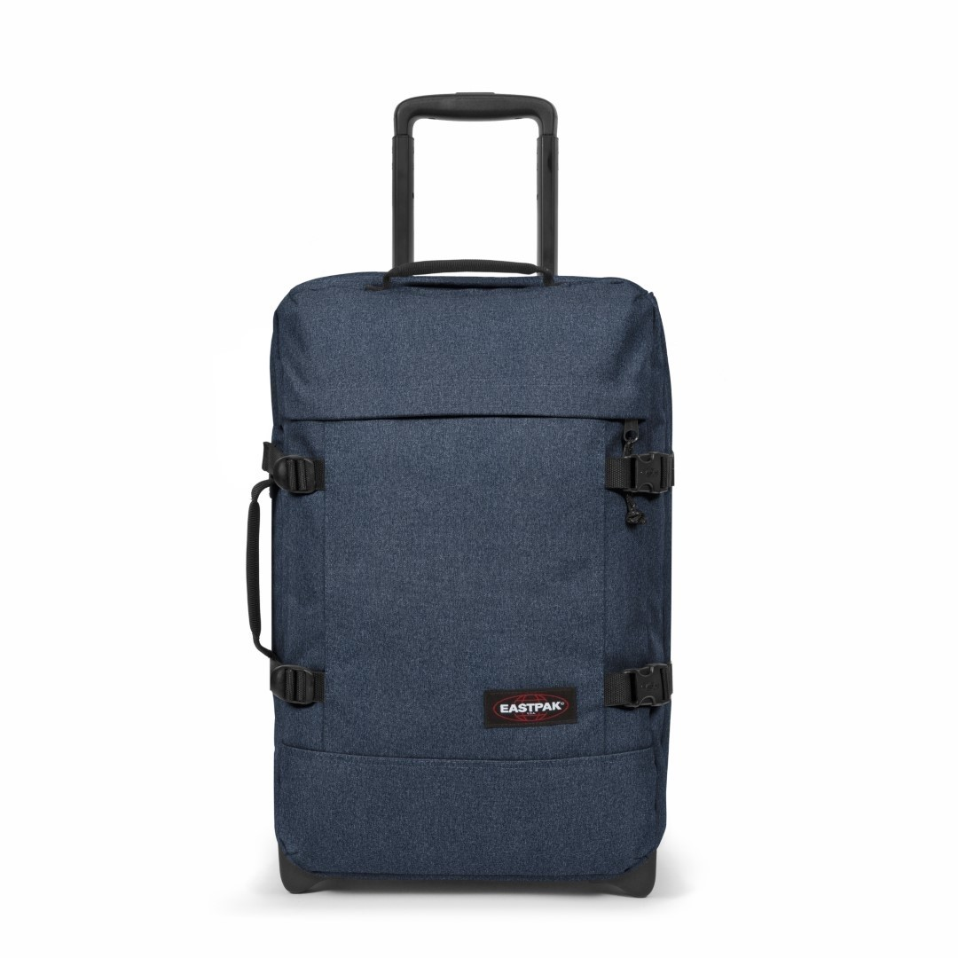eastpak authentic travel tranverz s ek61l 82d double denim
