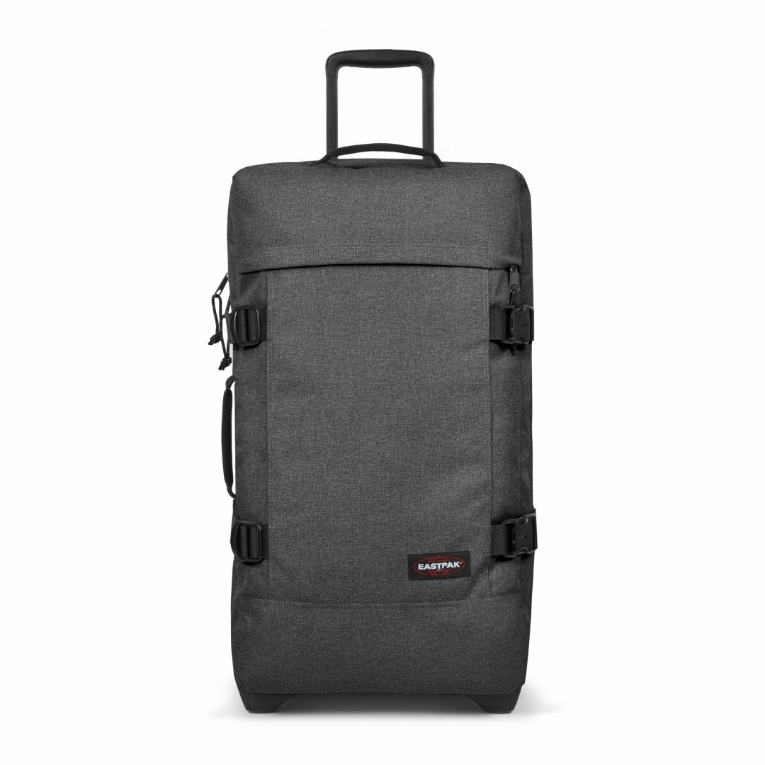 eastpak authentic travel tranverz m ek62f 77h black denim