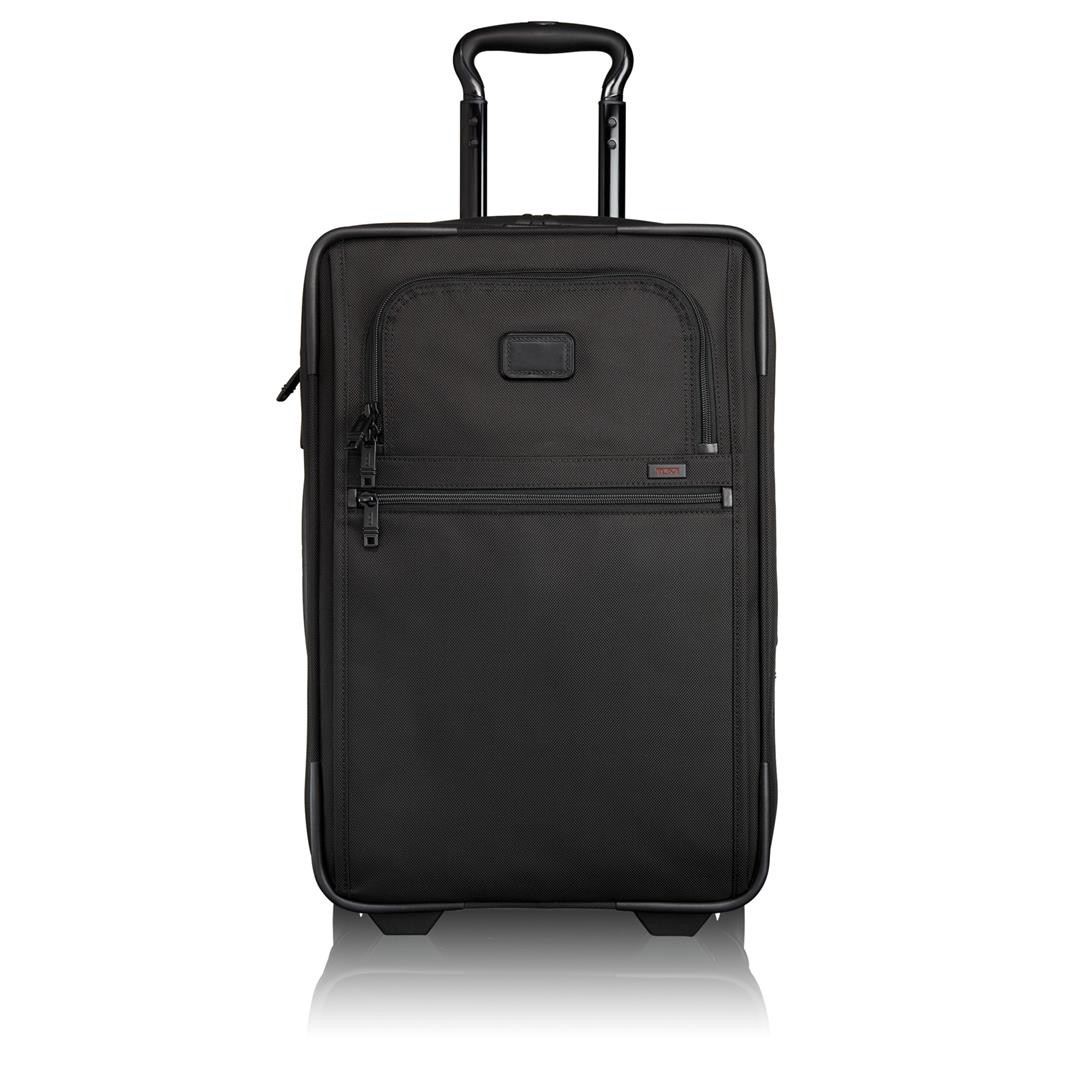 tumi alpha 2 int exp 2 wheel carry on 22020 black