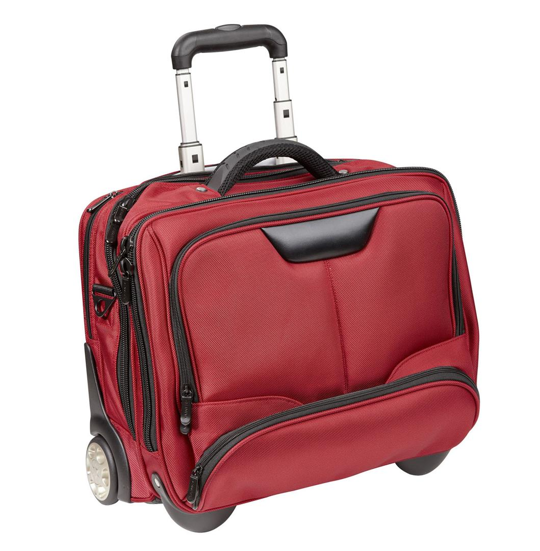 dermata office case trolley 3456ny red