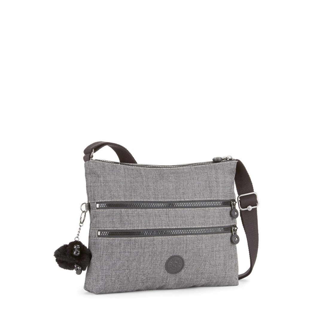 kipling basic alvar bp k12472 d03 cotton grey