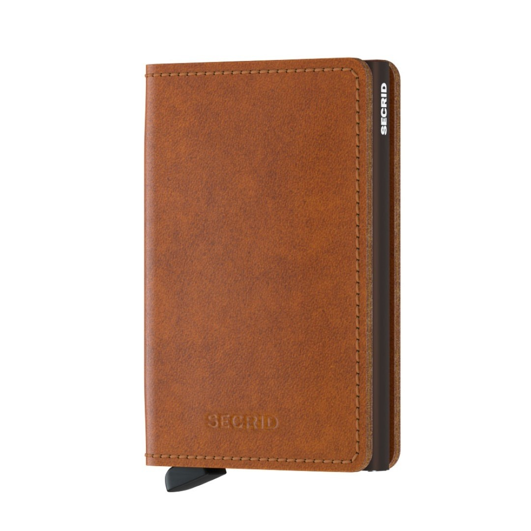 secrid slimwallet so cognac brown